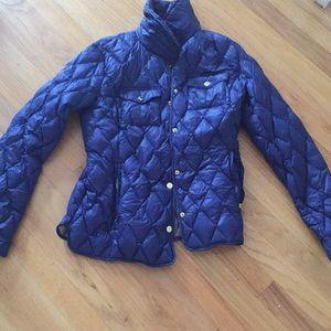 royal blue size women's medium michael kors jacket